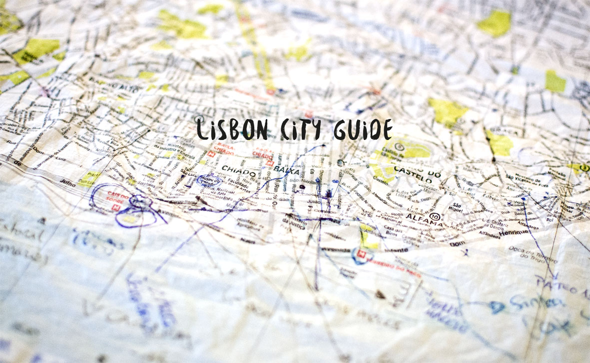 Lisbon Map | chestnutandsage.de