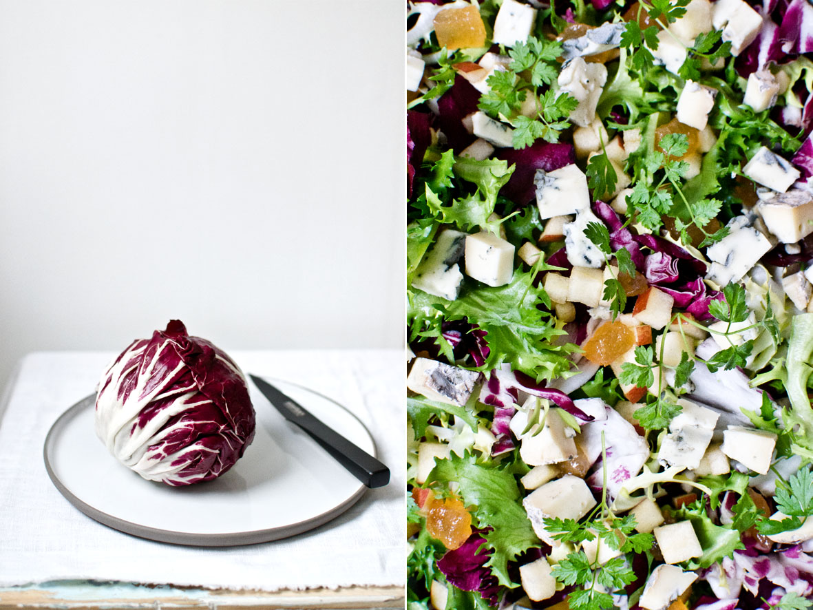 Radicchio-Salat | chestnutandsage.de