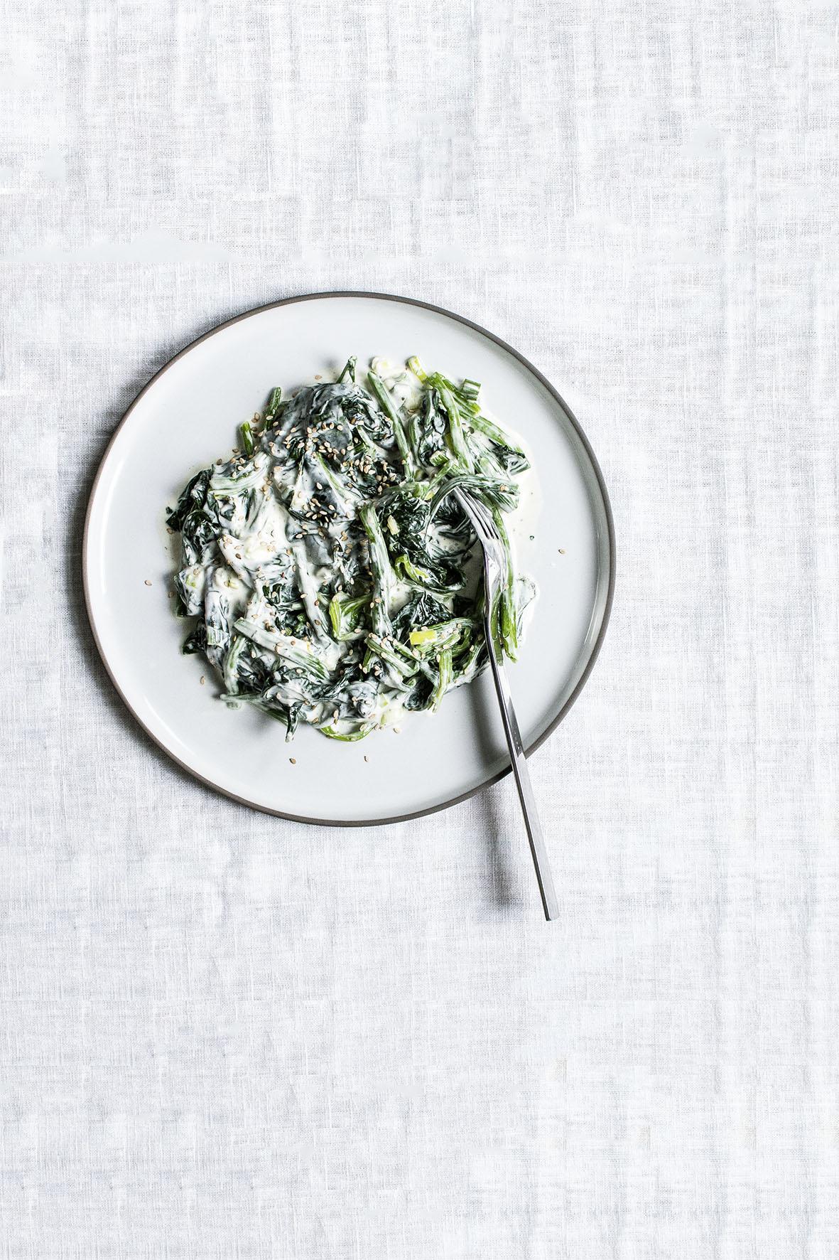Spinatsalat | chestnutandsage.de
