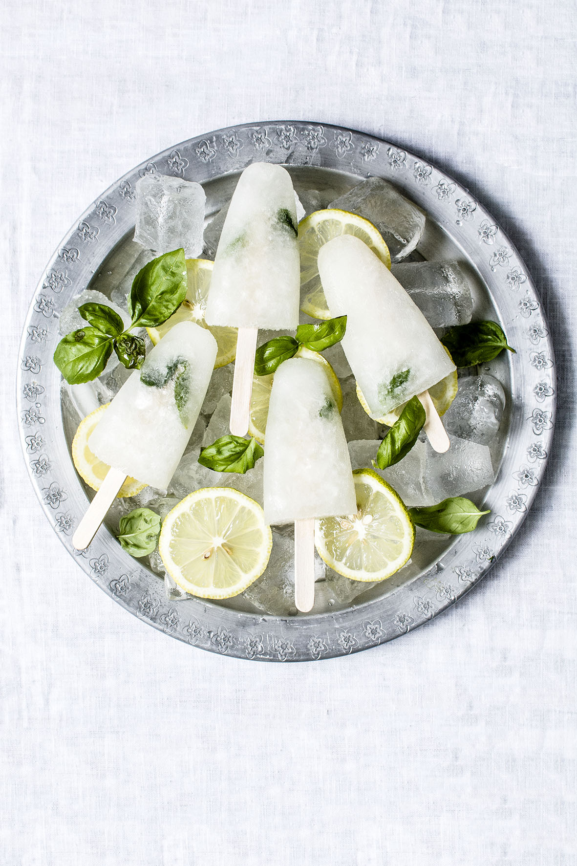 I'm rarely bored alone: Limoncello-Popsicles