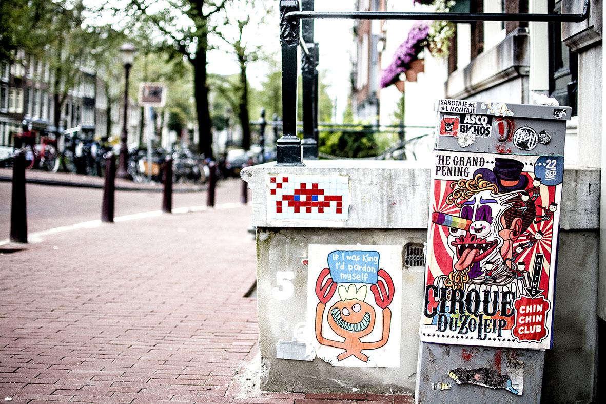 Amsterdam  Spaceinvador   chestnutandsage.de
