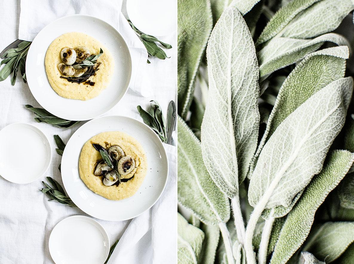 Taleggio-Polenta mit Cipolline   chestnutandsage.de