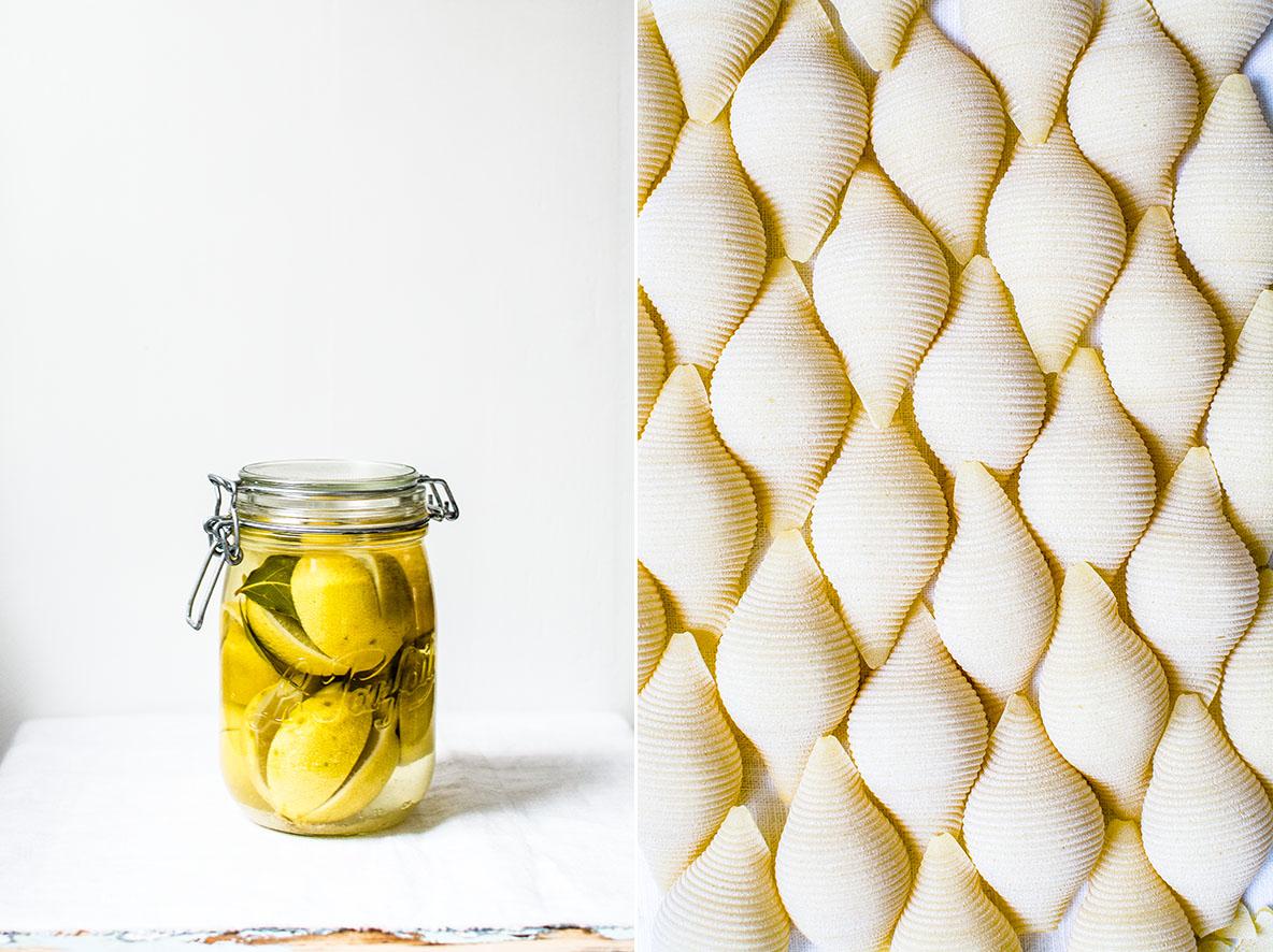 Salzzitronen und Pasta | chestnutandsage.de