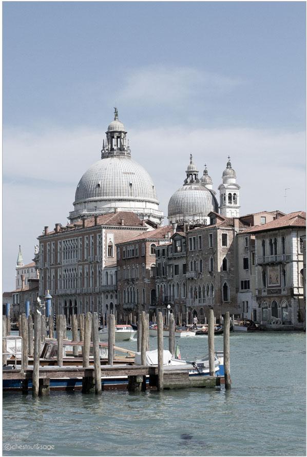 Venedig Santa Maria della salute | chestnutandsage.de