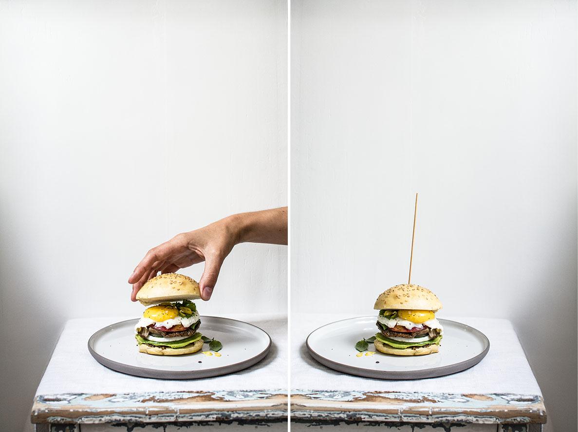 Veggie Burger | chestnutandsage.de