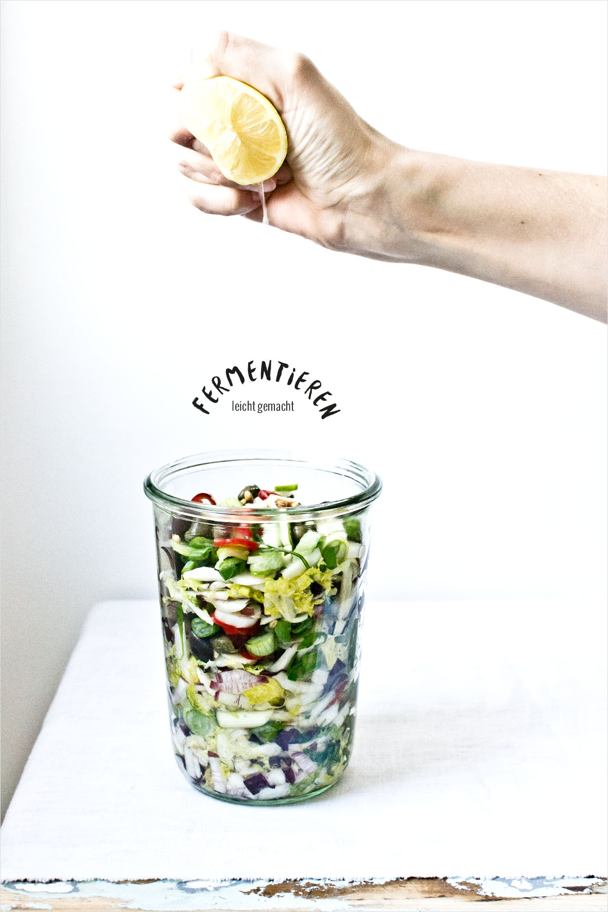 Meditteranes Kimchi | chestnutandsage.de