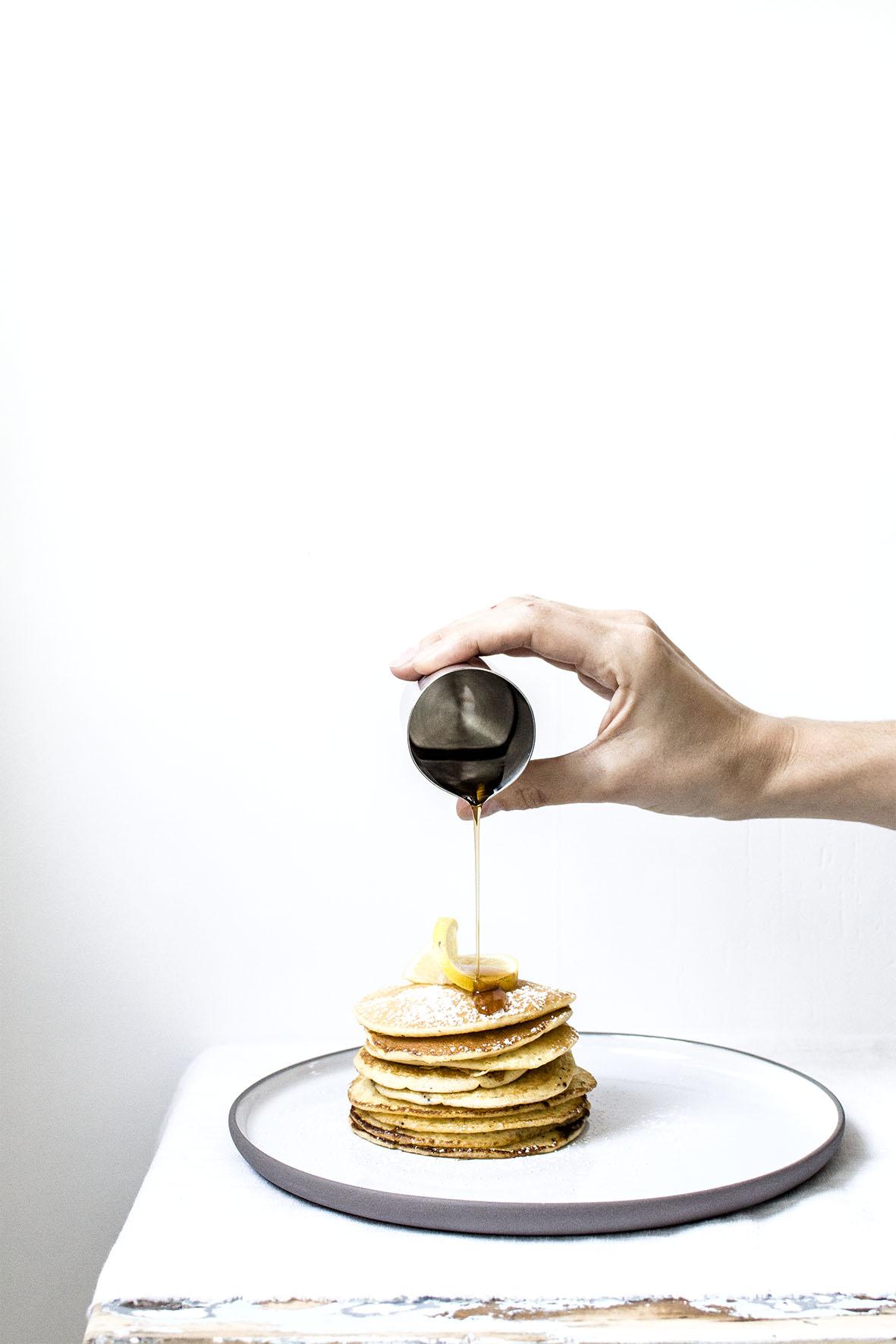 Zitronen-Pancakes | chestnutandsage.de