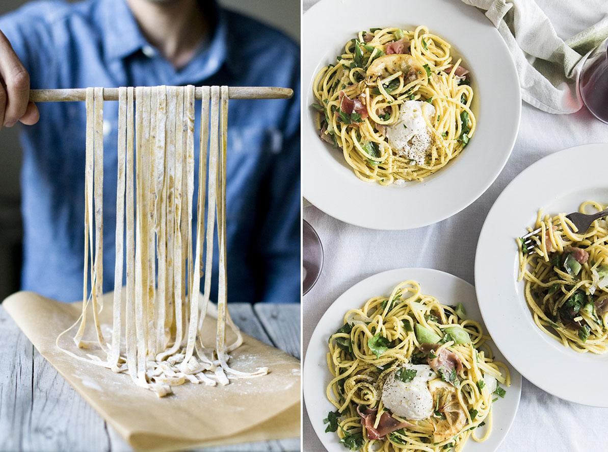 Wie man Pasta selber macht | chestnutandsage.de