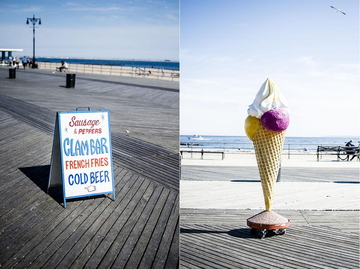 NYC ConeyIsland |Schilder | chestnutandsage.de